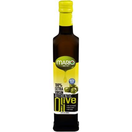 100% Extra Virgin Authentic Olive Oil 16.9 fl. oz. Bottle