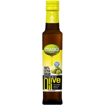 100% Extra Virgin Authentic Olive Oil 8.45 fl. oz. Bottle
