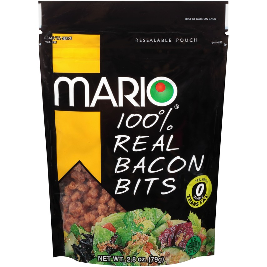 100% Real Bacon Bits 2.8 oz. Pouch