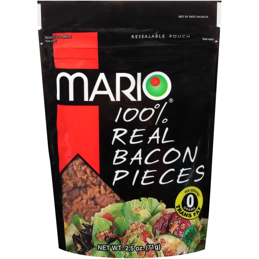 100% Real Bacon Pieces 2.5 oz. Pouch